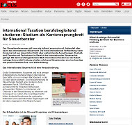 FOCUS MBA International Taxation