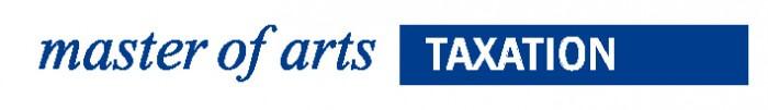Logo Master of Arts - Taxation