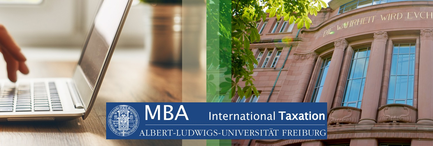 Studiengang MBA International Taxation