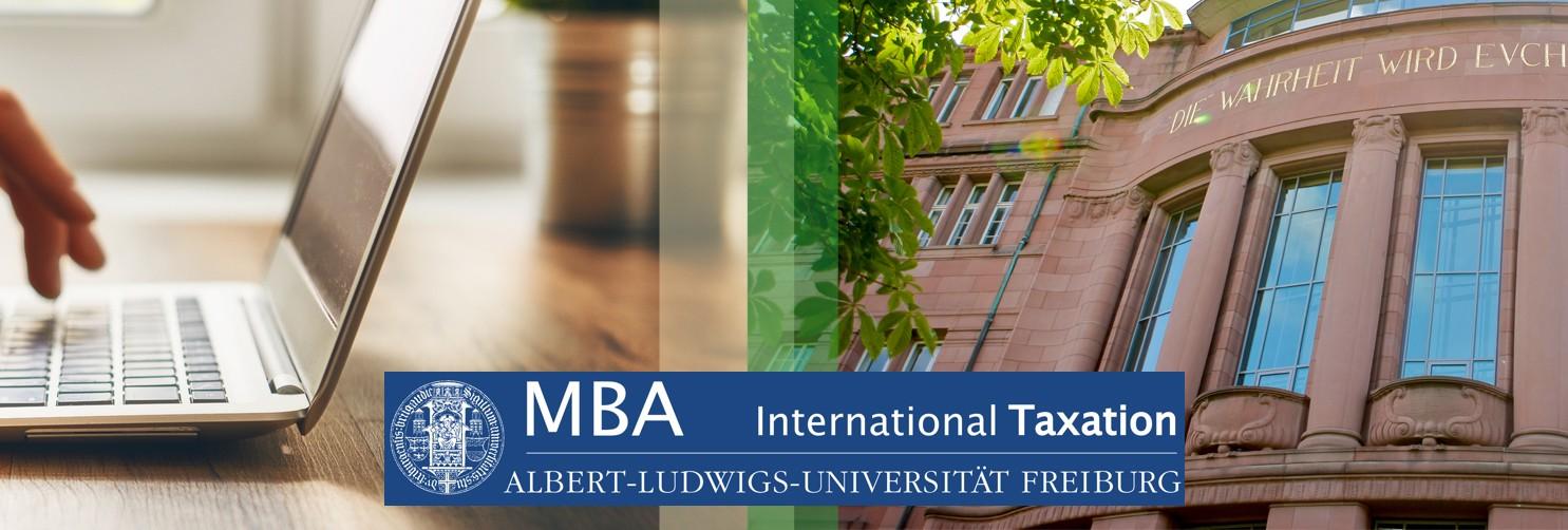 Studiengang MBA International Taxation
