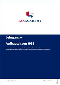 Infomaterial Lehrgang Aufbauwissen HGB