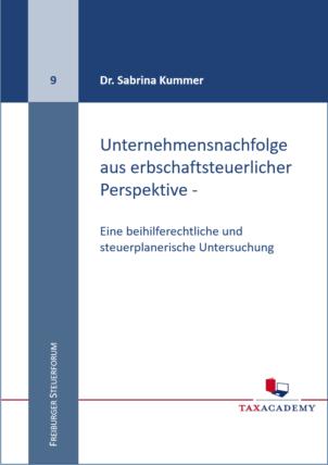 Buchumschlag_TaxAcademy_Kummer